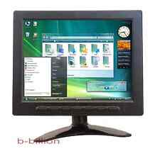 "8"" Native Resolution 1024x768 HD Display BNC RCA AV Video VGA TFT LED Monitor CA"