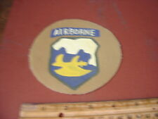 WWII USA 18 TH AIRBORNE DIVISION GHOST PHANTOM DIVISION    JACKET  PATCH