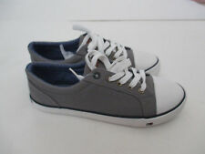 TOMMY HILFIGER   Gray SNEAKERS  Size 4 (youth) - New