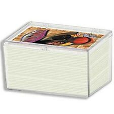 Ultra Pro 100 Count Hinged Clear Card Case [NEW] Ct Pc Protector Playing Trading