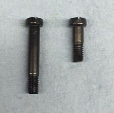 Set of two Mauser 98  93 - 96 trigger guard screws , custom , new blued