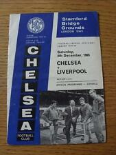 04/12/1965 Chelsea v Liverpool  (Creased)