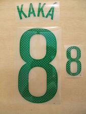 Sporting id Kaka 8 Brazil Shirt Player Size PU Print Set 2011/12