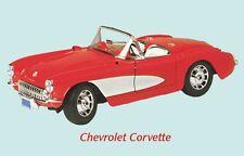 Chevrolet Corvette Classic Car Fridge Magnet