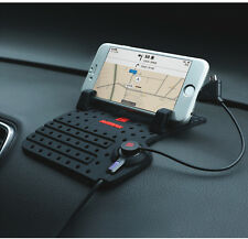 iPhone 4 5 6 & Galaxy Mobile Phone Car Dashboard GPS SatNav Holder Anti slip Mat