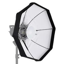 "60CM 24""Pro Octagon Beauty Dish Softbox Strobe Flash Speedlite Bowens Mount C7U7"