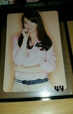 Snsd hyoyeon gee japan official photocard Kpop k-pop  shipped in toploader