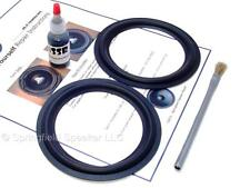 "2 Butyl Rubber 5.25"" Speaker Surround Repair Kit - Woofer - 2BR525"