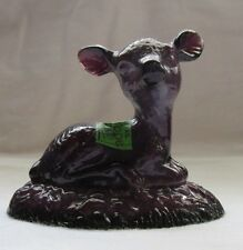 BOYD GLASS BINGO THE FAWN DEER  (HELIOTROPE)  SECOND FIVE YEARS