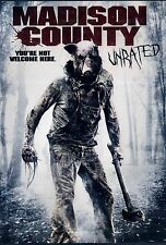 BRAND NEW HORROR DVD // Madison County/  UNRATED //  Matt Mercer, Colley Bailey