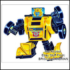 Fridge Fun Refrigerator Magnet TRANSFORMERS: BUMBLEBEE G1 Box Art 1984
