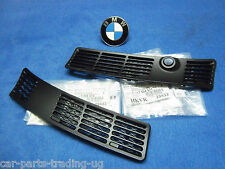BMW e30 325i Grille NEW Windshield Wiper Cover Convertible Cabrio Set right left