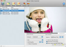 Movavi Video Converter Personal for Apple Mac,  Convert Video MPEG AVI MP3 Divx
