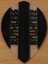 "5 Sets (5X3) ""Black+Clear"" Ruthless Pear Shaped  Dart Flights"