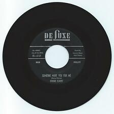 DOO WOP 45 DONNIE ELBERT DOMEONE MADE YOU FOR ME ON DE LUXE VG+ ORIGINAL