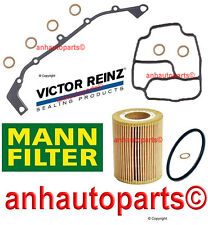 oem Reinz Oil Filter,Vanos Gasket Kit  & Mann Oil Filter BMW E36 E46 M54-Engine