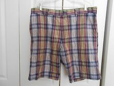 BANANA REPUBLIC--MADRAS COTTON PLAID---38