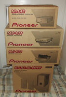 """Pioneer """"XCL11"""" CD/AMP/TUNER System WITH """"MJL11"""" MINIDISC player/recorder"""