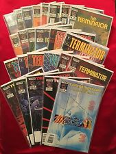 The Terminator Dark Horse Comics/Now Comic Book Lot