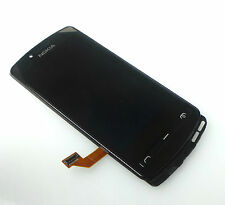 ORIGINALE Nokia Lumia 700 FRONT COVER LCD Display Touch Screen 0089t36 BLACK NUOVO