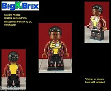 FIRESTORM Version #2 DC Custom Printed LEGO & Custom Parts Minifigure