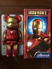 Rare Medicom Be@rbrick Iron Man 2 Mark VI 6 Bearbrick 400% Very Limited Ironman