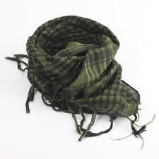 Lightweight Military Shemagh Arab Tactical KeffIyeh Scarf Wrap Army Green Thick