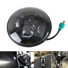 7 INCH MOTORCYCLE PROJECTOR DAYMAKER Angel Halo Eyes LED HEADLIGHT For Harley