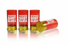 Novelty 12 Gauge Shotgun Shell Shot Glass shells glasses drinking game Set of 4