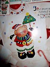Daisy Kingdom No Sew Fabric Applique Design a Shirt Christmas Tree Umbrella