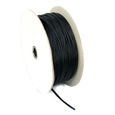 Cable Modders Expandable Braided Sleeving Jet Black 2.5mm 100m spool
