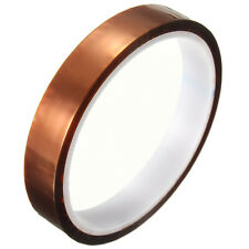 15mm x 30m Gold Tape 260-300℃ High Temperature Heat Resistant Polyimide