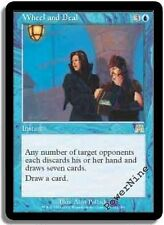 1 Wheel and Deal - Onslaught MtG Magic Blue Rare 1x x1
