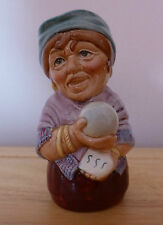 ROYAL DOULTON Madame Crystal The Clairvoyant Small Toby Jug D6741