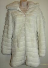 Womens BB Dakota Coat size M Faux Fur Reversible Coat