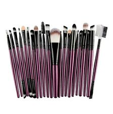 Professional 22Pcs Kabuki Wool Make Up Brush Tools Set Toiletry Cosmetic Brushes