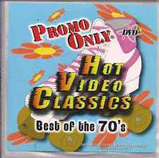 Promo only video classics: BEST OF 70'S AMII STEWART Michael Jackson BEE GEES