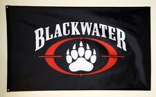 Blackwater Millitary Advertising Quality Flag Banner 3x5 feet
