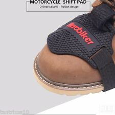 HEROBIKER Wear-resisting Rubber Motorcycle Gear Shift Pad Riding Boots Cover NEW