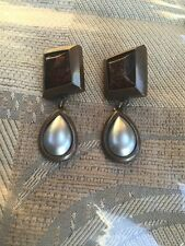 Vintage Ysl Made In France Clip On Earrings