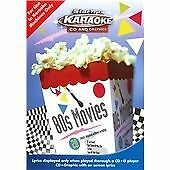 80s MOVIES KARAOKE CD AND GRAPHICS - FOR USE IN KARAOKE MACHINES ONLY