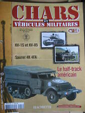 FASCICULE N°18 VEHICULES MILITAIRES CHARS AUTO MOTO