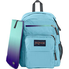 JanSport Backpack NEW School Bag -  DIGITAL Student Multi Ice Ice Baby