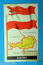 figurines stickers picture cards figurine bandiere del mondo 9 austria folgore