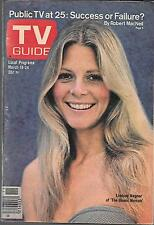 TV GUIDE MARCH 1978 THE BIONIC WOMAN COVER (FN) LINDSAY WAGNER