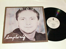 CLAUDE DUBOIS Implosif LP 1983 Pingouin Records Quebec Canada French Vinyl VG/VG