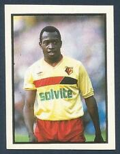 DAILY/SUNDAY MIRROR 1988 -#261-WATFORD-WORRELL STERLING