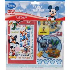DISNEY VACATION Scrapbook Page Kit 8x8 Paper & Stickers