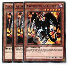 DPBC-EN011 x3 ARCHFIEND OF GILFER (ARCIDEMONE DI GILFER) Common Yugioh