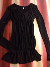NWT NEW WITH TAGS WOMEN'S BLACK GOTHIC DRESS by EVERYDAY CLOTHING LINE SMALL S